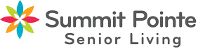 Logo for the Summit Pointe Senior Living Community