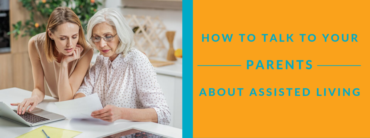 Talk to Parents About Assisted Living | Summit Pointe