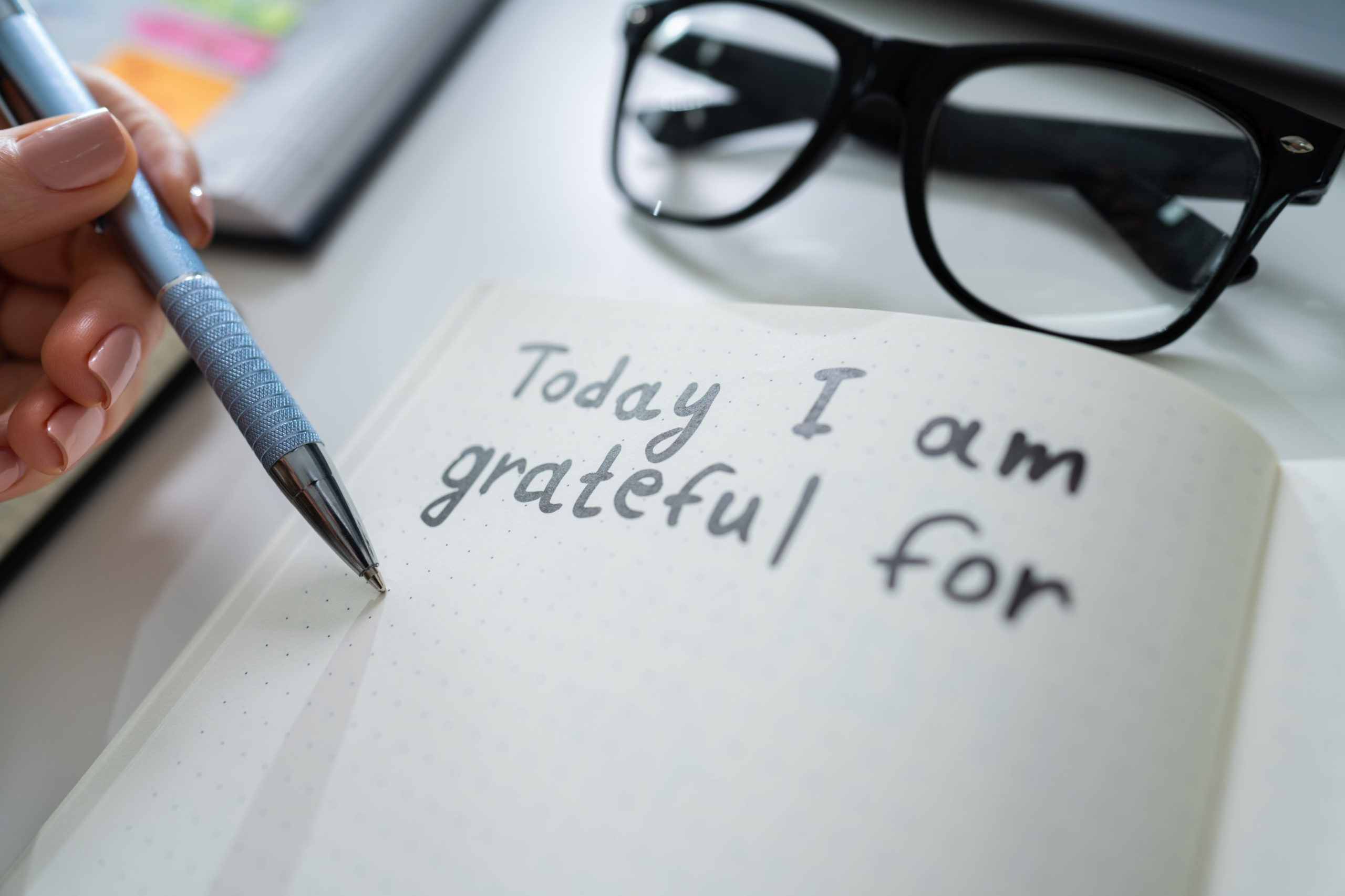 Make the most of the holidays at Summit Pointe with a Gratitude Journal